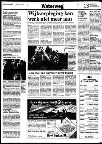 Rotterdamsch Nieuwsblad / Schiedamsche Courant / Rotterdams Dagblad / Waterweg / Algemeen Dagblad 1991-06-26