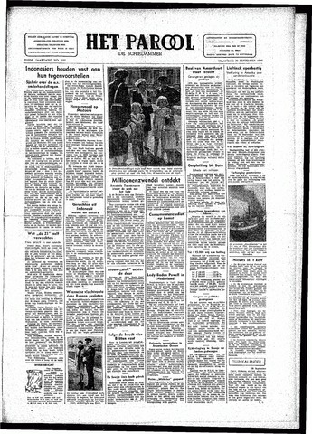 Rotterdamsch Parool / De Schiedammer 1946-09-30