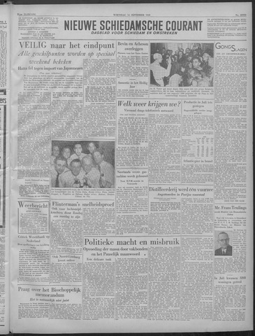 Nieuwe Schiedamsche Courant 1949-09-14