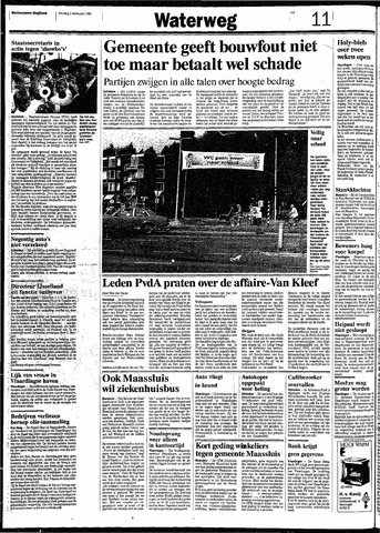 Rotterdamsch Nieuwsblad / Schiedamsche Courant / Rotterdams Dagblad / Waterweg / Algemeen Dagblad 1991-09-03