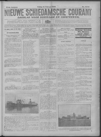 Nieuwe Schiedamsche Courant 1929-02-15