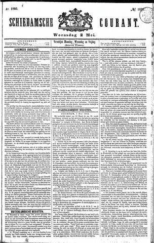 Schiedamsche Courant 1866-05-02