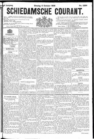 Schiedamsche Courant 1908-10-06
