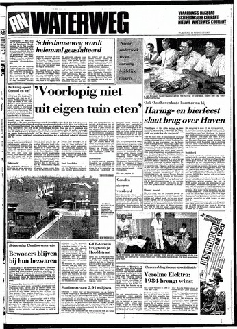 Rotterdamsch Nieuwsblad / Schiedamsche Courant / Rotterdams Dagblad / Waterweg / Algemeen Dagblad 1983-08-24