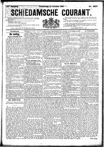 Schiedamsche Courant 1916-10-12