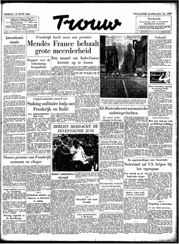 Trouw / De Rotterdammer 1954-06-18