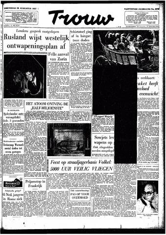Trouw / De Rotterdammer 1957-08-28