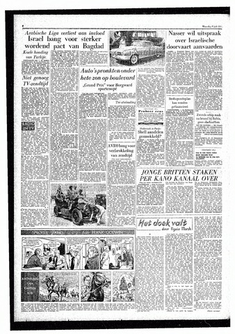 Rotterdamsch Parool / De Schiedammer 1957-07-08