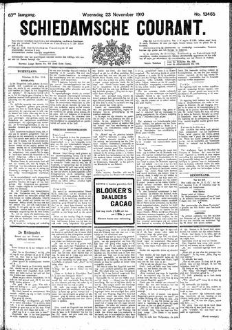Schiedamsche Courant 1910-11-23