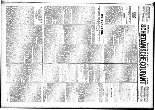 Schiedamsche Courant 1927-08-18