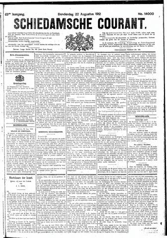 Schiedamsche Courant 1912-08-22