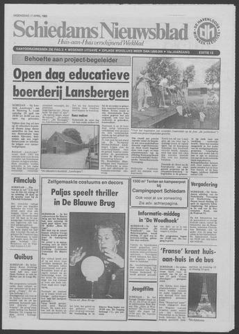 Schiedams Nieuwsblad 1985-04-17