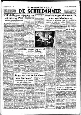 Rotterdamsch Parool / De Schiedammer 1949-09-28