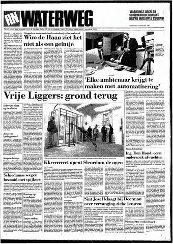 Rotterdamsch Nieuwsblad / Schiedamsche Courant / Rotterdams Dagblad / Waterweg / Algemeen Dagblad 1987-02-09
