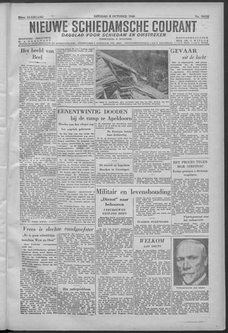 Nieuwe Schiedamsche Courant 1946-10-08