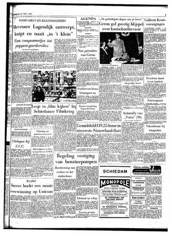 Rotterdamsch Parool / De Schiedammer 1962-11-21