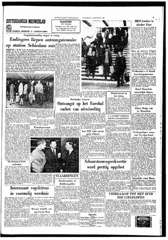 Rotterdamsch Nieuwsblad / Schiedamsche Courant / Rotterdams Dagblad / Waterweg / Algemeen Dagblad 1965-08-02
