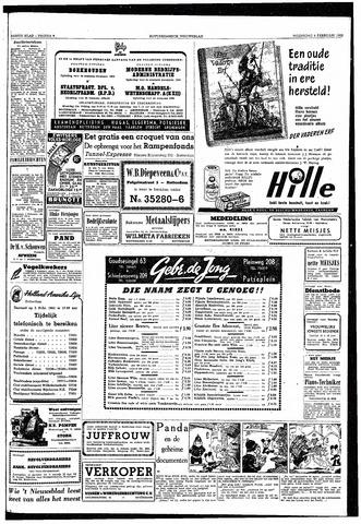 Rotterdamsch Nieuwsblad / Schiedamsche Courant / Rotterdams Dagblad / Waterweg / Algemeen Dagblad 1953-02-04