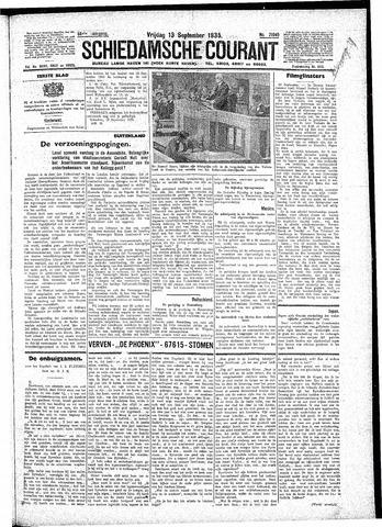 Schiedamsche Courant 1935-09-13