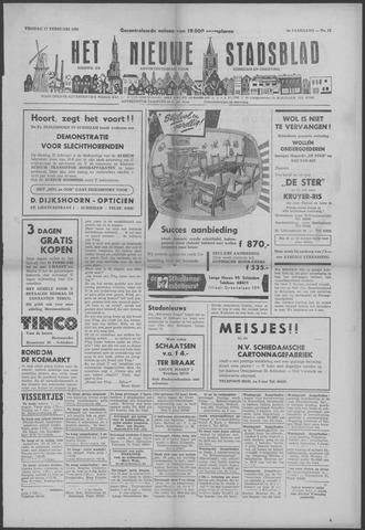 Het Nieuwe Stadsblad 1956-02-17