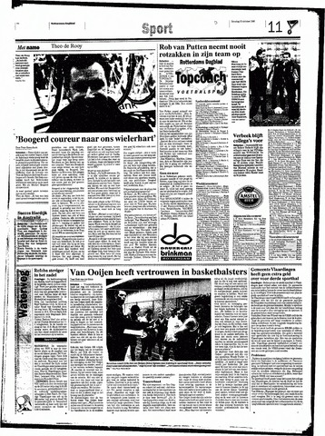 Rotterdamsch Nieuwsblad / Schiedamsche Courant / Rotterdams Dagblad / Waterweg / Algemeen Dagblad 1998-10-20