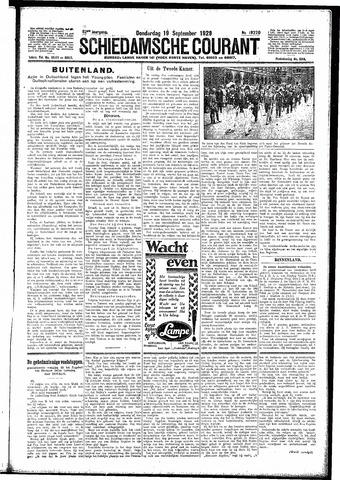 Schiedamsche Courant 1929-09-19