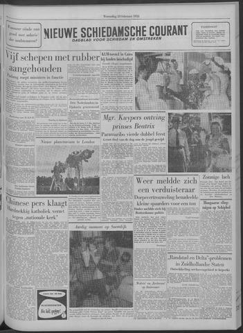 Nieuwe Schiedamsche Courant 1958-02-19