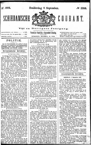Schiedamsche Courant 1881-09-08