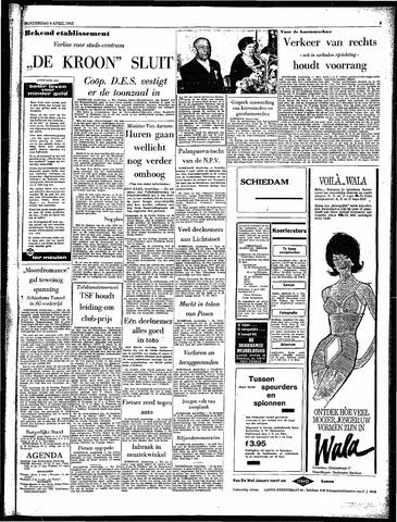 Rotterdamsch Parool / De Schiedammer 1963-04-04