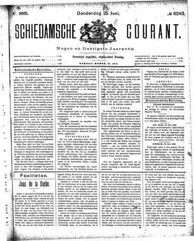 Schiedamsche Courant 1885-06-25