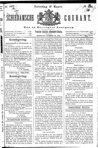 Schiedamsche Courant 1877-03-17