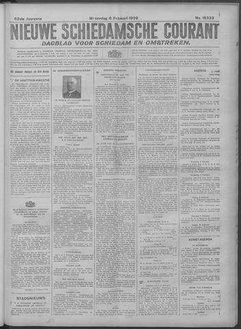 Nieuwe Schiedamsche Courant 1929-02-06
