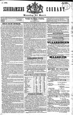 Schiedamsche Courant 1862-03-31