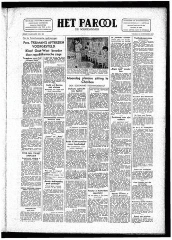Rotterdamsch Parool / De Schiedammer 1946-11-08