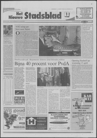 Het Nieuwe Stadsblad 1998-01-21