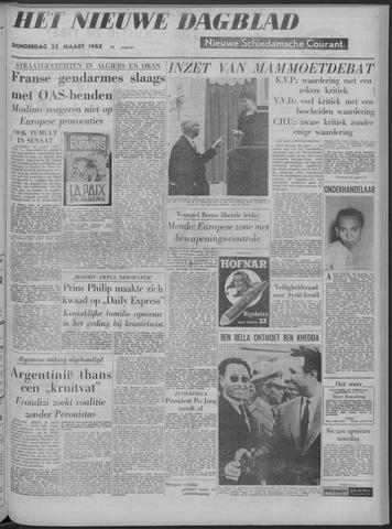 Nieuwe Schiedamsche Courant 1962-03-22