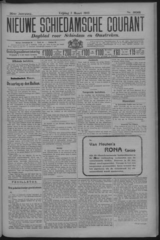 Nieuwe Schiedamsche Courant 1913-03-07