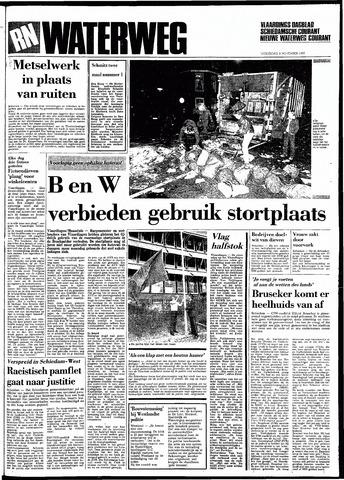 Rotterdamsch Nieuwsblad / Schiedamsche Courant / Rotterdams Dagblad / Waterweg / Algemeen Dagblad 1983-11-09