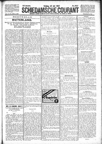 Schiedamsche Courant 1927-07-22