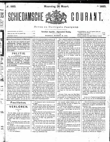 Schiedamsche Courant 1883-03-26