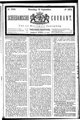Schiedamsche Courant 1881-09-19