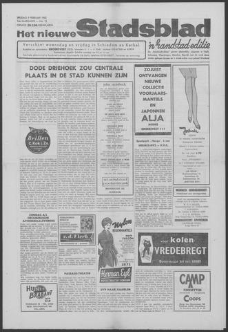 Het Nieuwe Stadsblad 1962-02-09