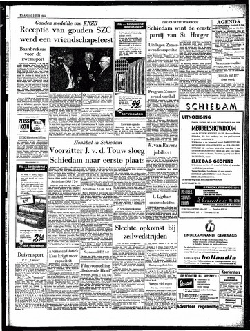 Rotterdamsch Parool / De Schiedammer 1962-07-02