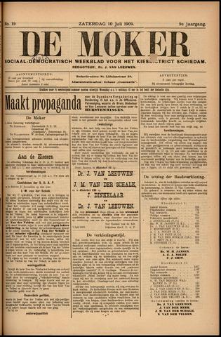 De Moker 1909-07-10