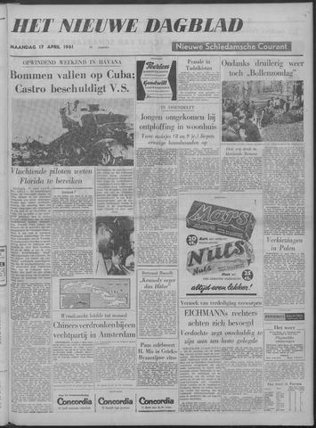 Nieuwe Schiedamsche Courant 1961-04-17