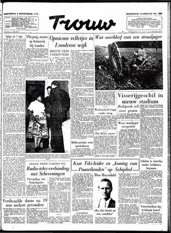 Trouw / De Rotterdammer 1958-09-03