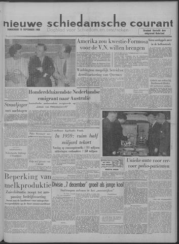 Nieuwe Schiedamsche Courant 1958-09-18