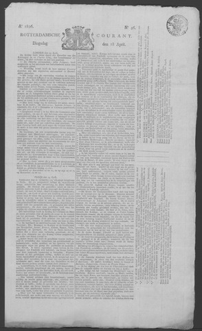 Rotterdamse Courant 1826-04-18