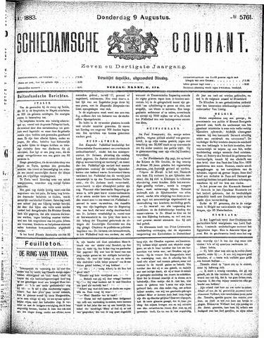 Schiedamsche Courant 1883-08-09