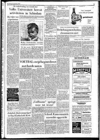 Rotterdamsch Parool / De Schiedammer 1961-09-07